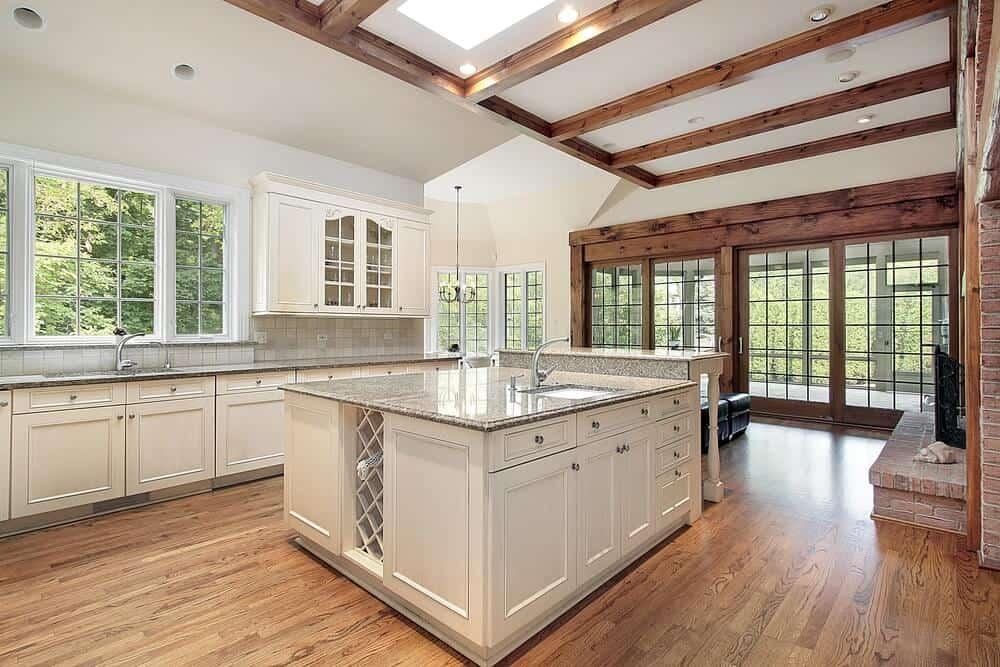 Large kitchen island plans