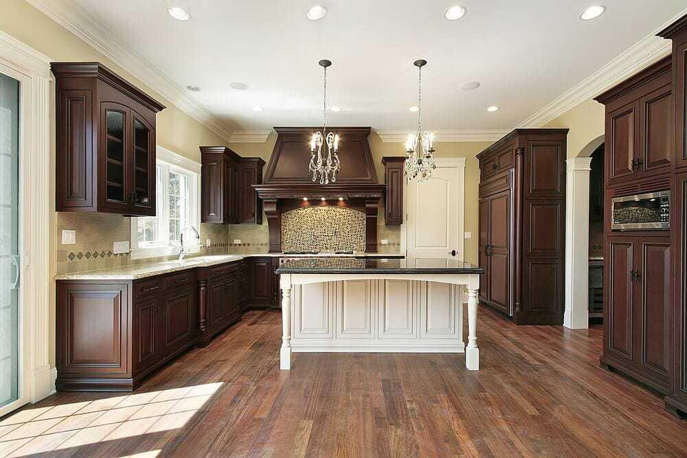46 Kitchens With Dark Cabinets Black, Kitchen Pictures With Dark Brown Cabinets