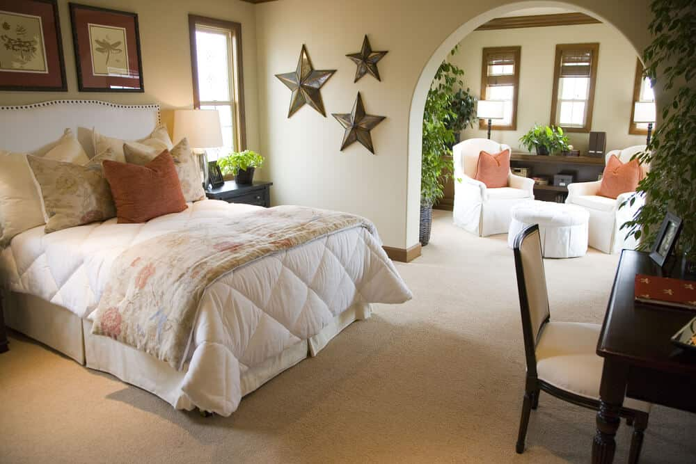 Decorated bedroom designs make it all worth while.