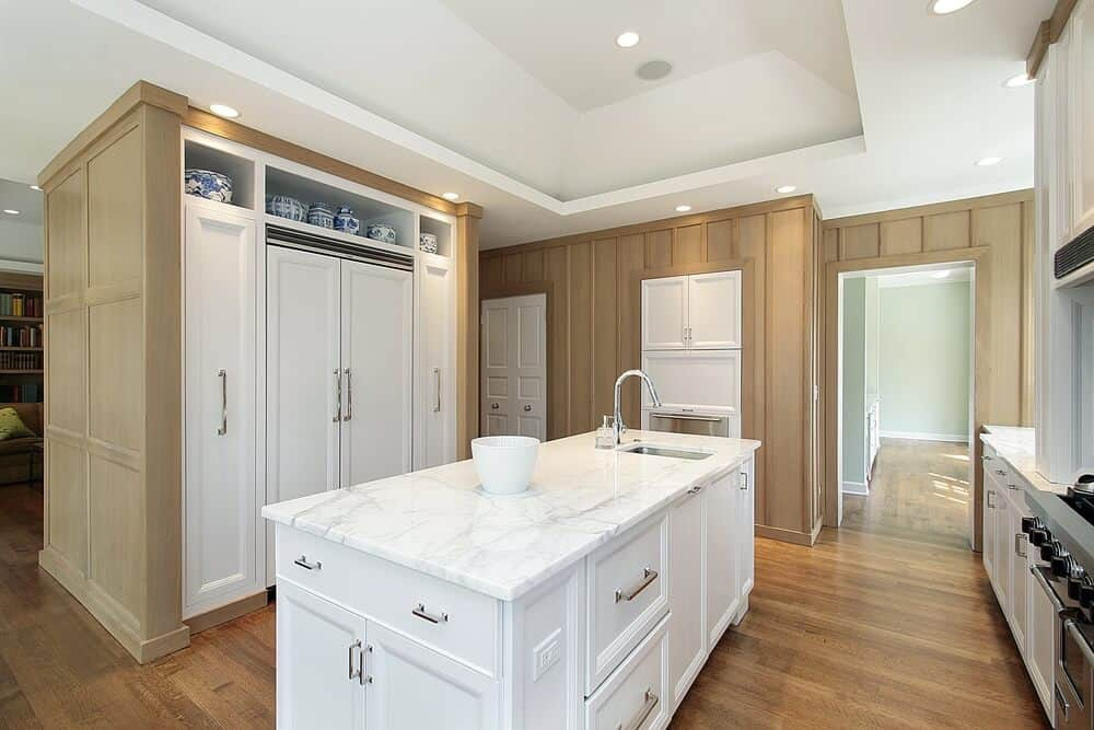 Built in kitchen remodel ideas