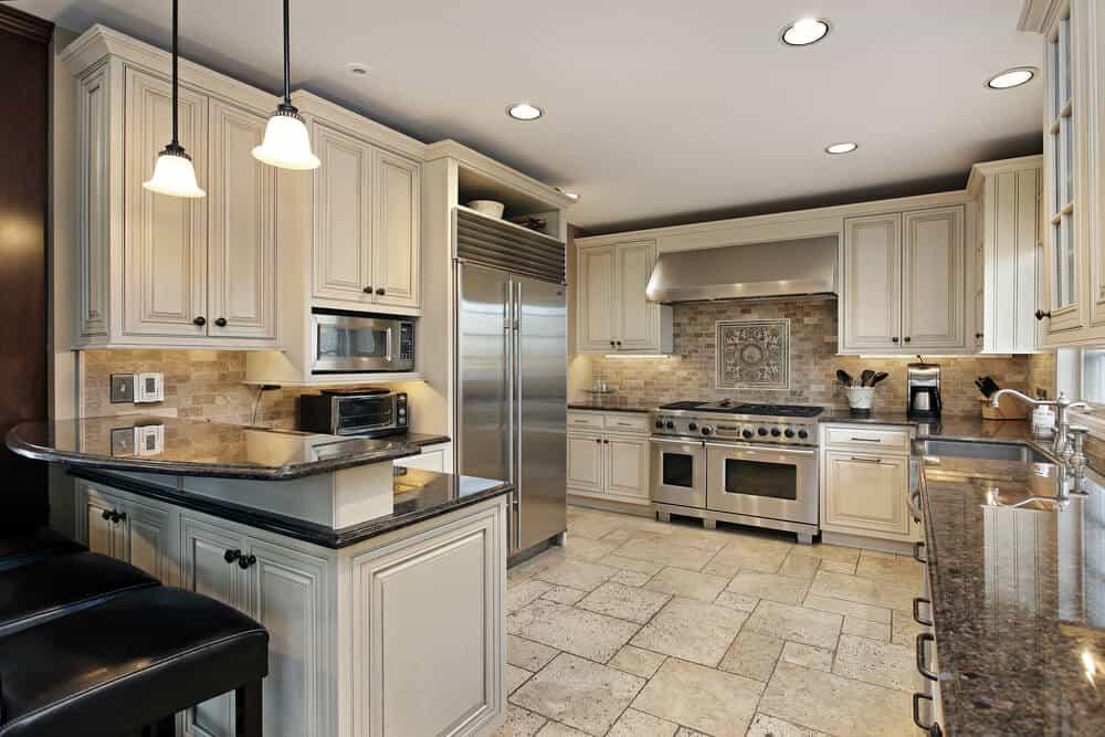 Partially-Open Kitchen