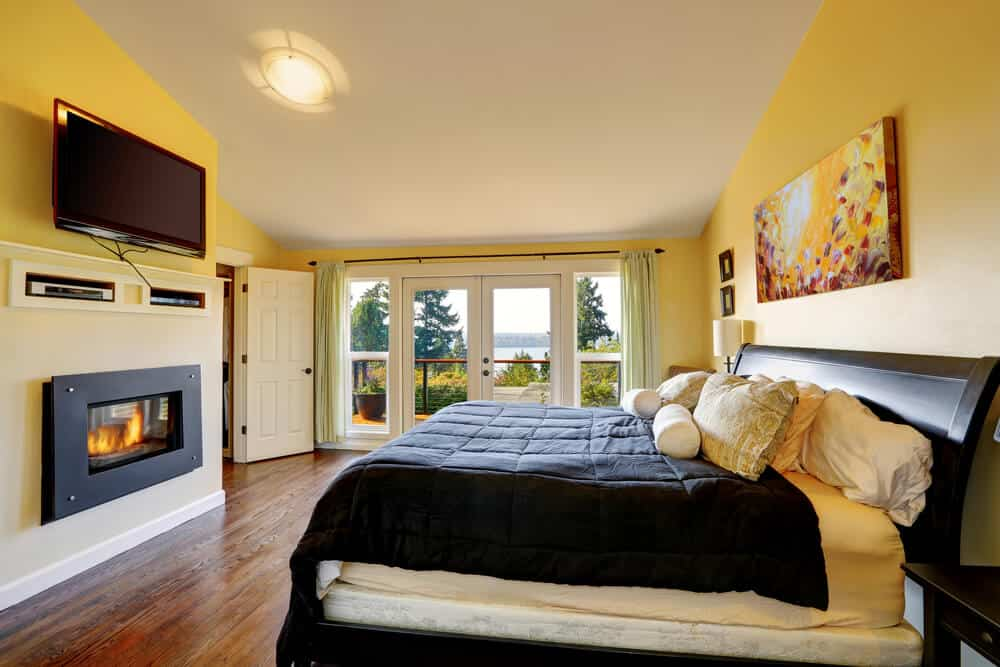 Install a gas fireplace