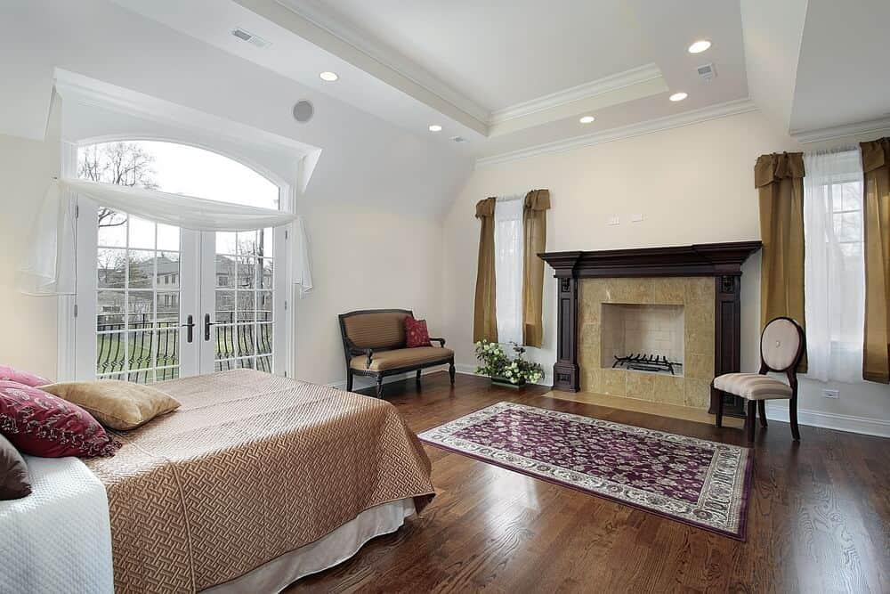 Mantle fireplace design