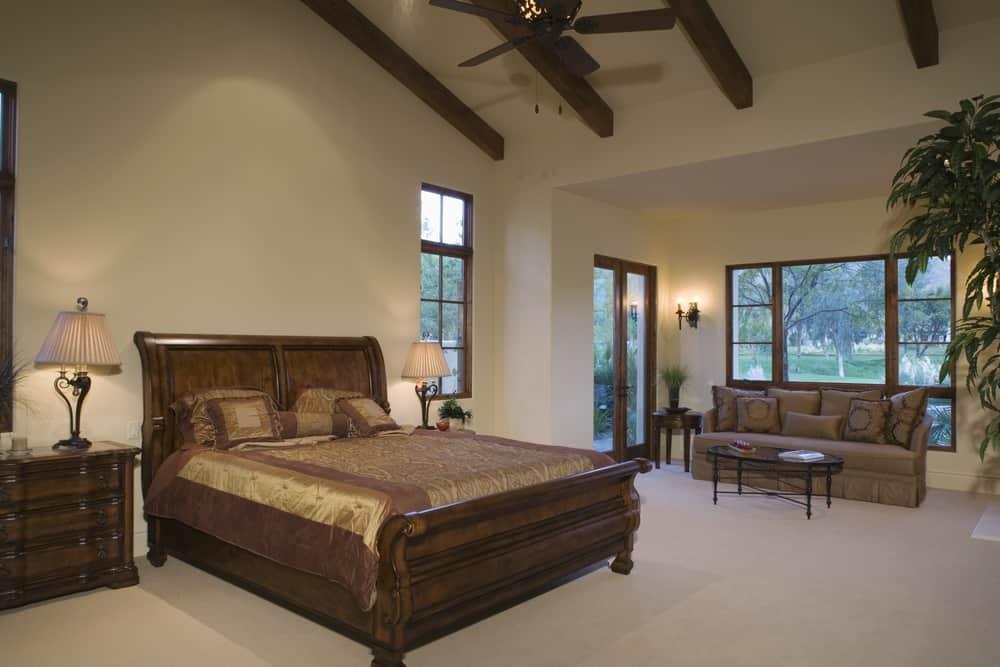 Sleigh Beds are a popular choice